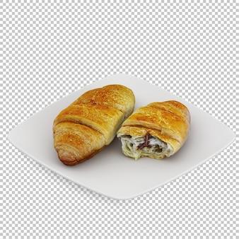 アイソメの朝食