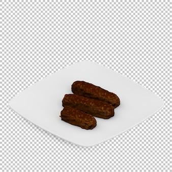 Изометрический десерт