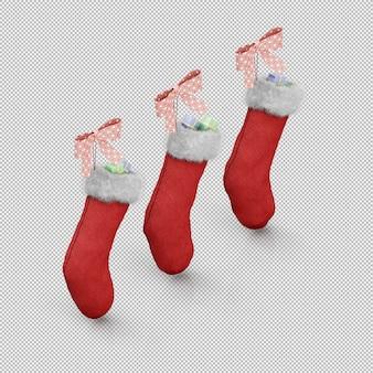 クリスマスプレゼントソックス