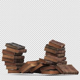 Изометрические старинные книги