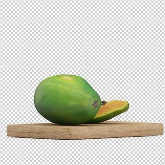 Изометрические фрукты