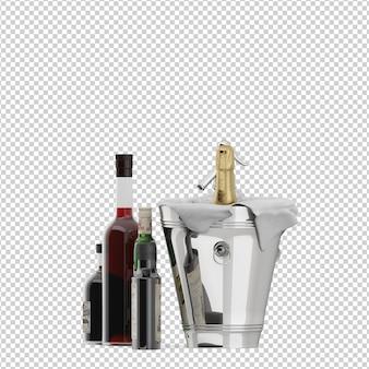 Изометрические бутылки