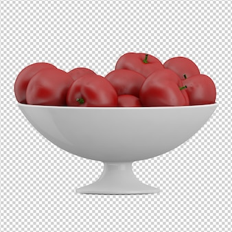 Изометрические яблоки