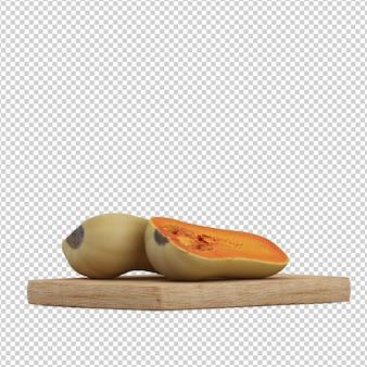 Изометрическая тыква