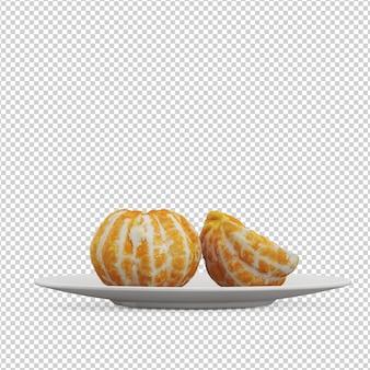 Изометрические апельсины