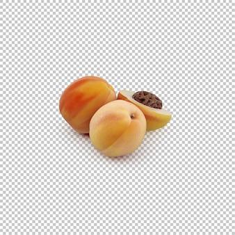 等尺性の桃