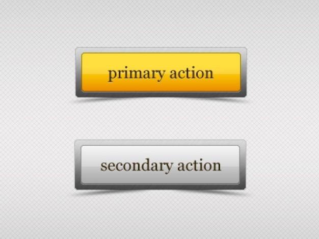Веб-кнопок с эффектом стекла