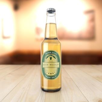 ビール瓶モックアップ