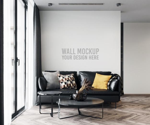 Макет стены гостиной