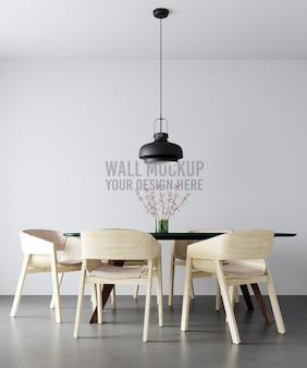 Интерьер стены стены макет