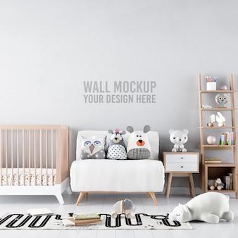 Интерьер детская комната обои макет