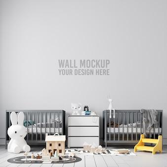 Интерьер детской комнаты иллюстрация