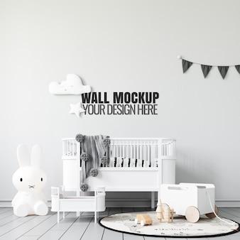 Интерьер детская игровая комната настенный макет