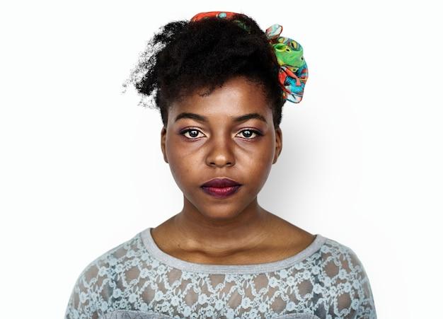 ジンバブエの女性の肖像