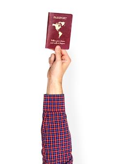 手持ちパスポート
