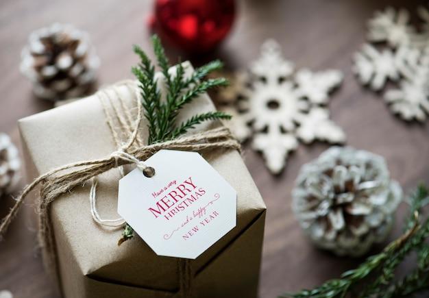 Рождественские подарочные коробки