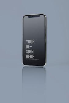 Полноэкранный дизайн макета смартфона