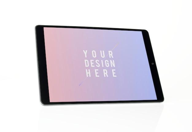 フルスクリーンタブレットモックアップデザイン