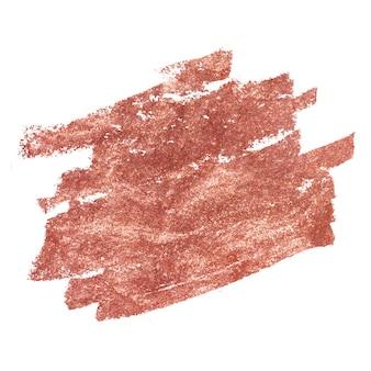 青銅色の口紅の背景