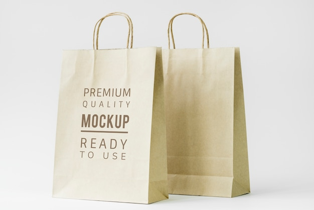紙袋モックアップ