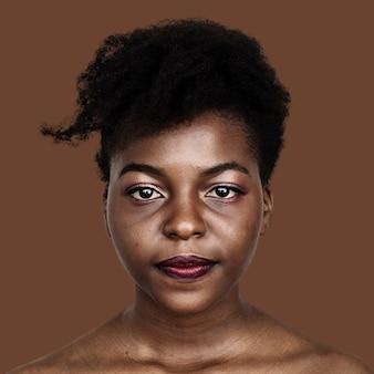 アフリカの女性の肖像
