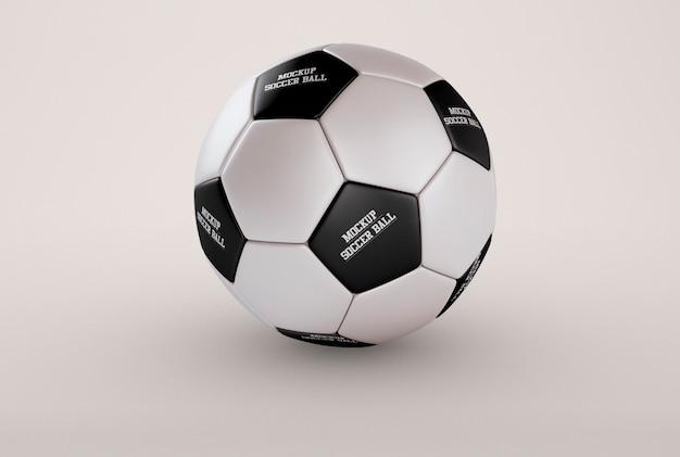 サッカーボールモックアップ