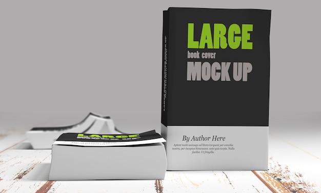 Большие книжные макеты в мягком переплете