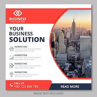 Корпоративный бизнес флаер