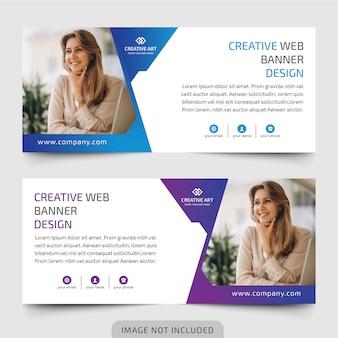 Бизнес веб-дизайн баннеров