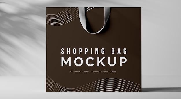 ショッピングバッグのモックアップ