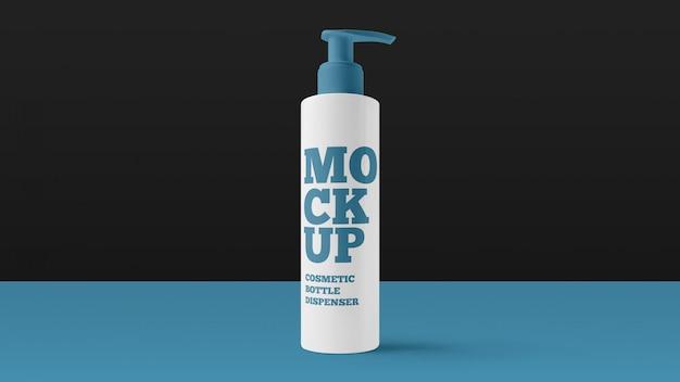 化粧品ボトルディスペンサーモックアップ