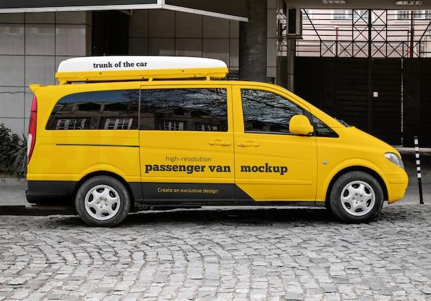 Пассажирский макет ван