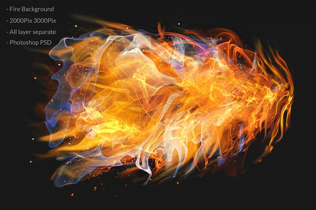Огонь пламя
