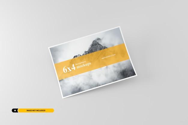 Флаер открытка макет