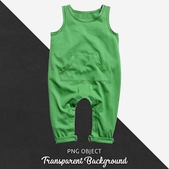 Прозрачный зеленый комбинезон для ребенка или детей