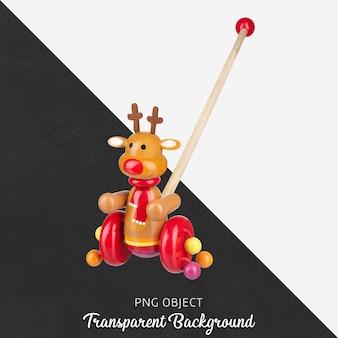 カラフルな木製の歩行者用おもちゃ
