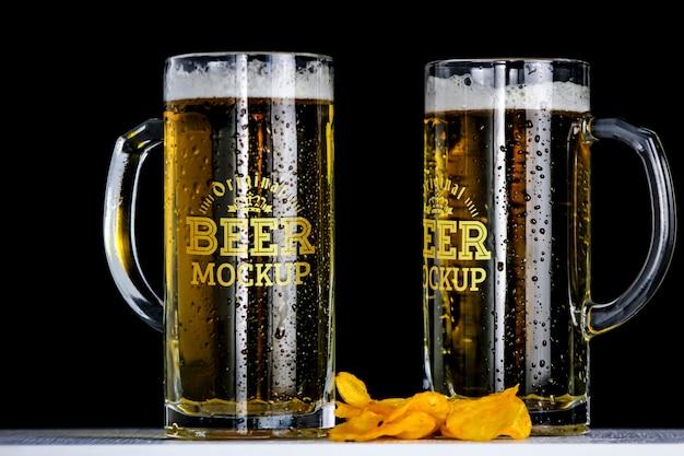ビールモックアップ