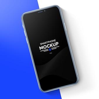 リアルなスマートフォンのモックアップ