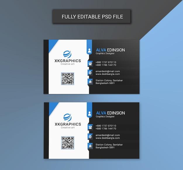 Графический дизайнер визитная карточка