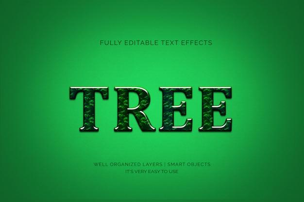 Эффект стиля дерева текста