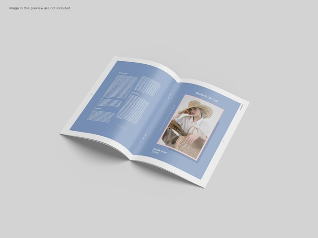Макет брошюры a4