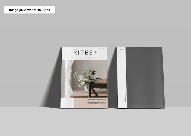 А4 обложка журналов макет