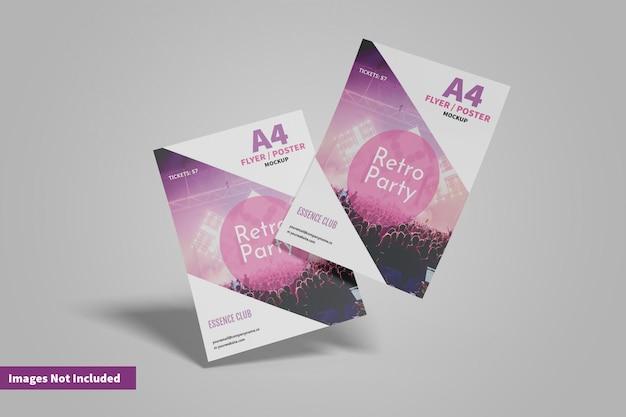 А4 флаер или макет плаката