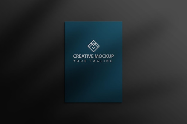 A4 or letterhead mockup premium psd