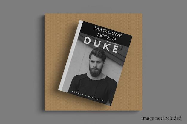 A4 magazine mockup template premium psd