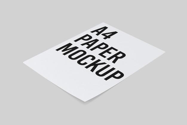 Бумажный макет формата а4