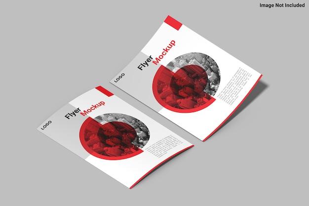 Дизайн макета листовки формата а4