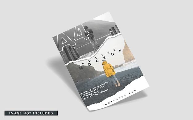 A4 posters mockup
