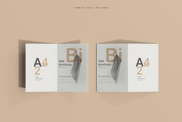 Двухслойный макет брошюры формата a4