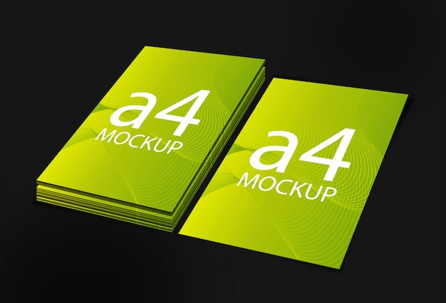 A4 size mockup